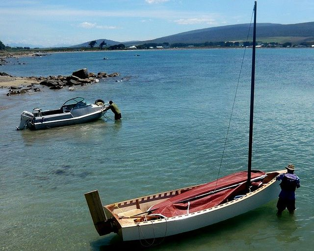 ... Island Skiff in New Zealand | Storer Boat Plans in Wood and Plywood