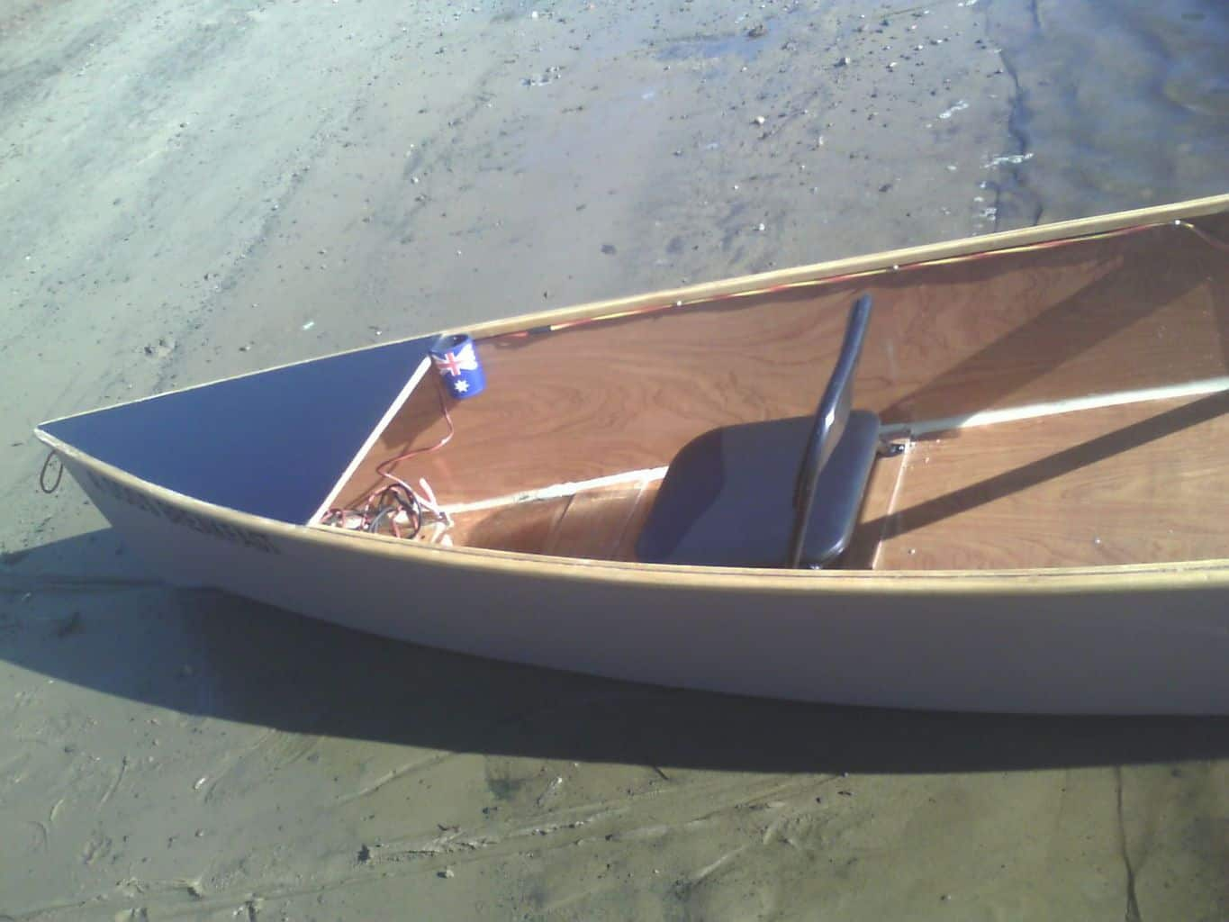 ... Canoe – square backed canoe. | Storer Boat Plans in Wood and Plywood