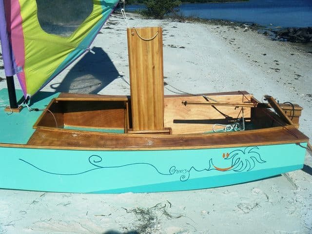 ... simple boat with two adults | Storer Boat Plans in Wood and Plywood