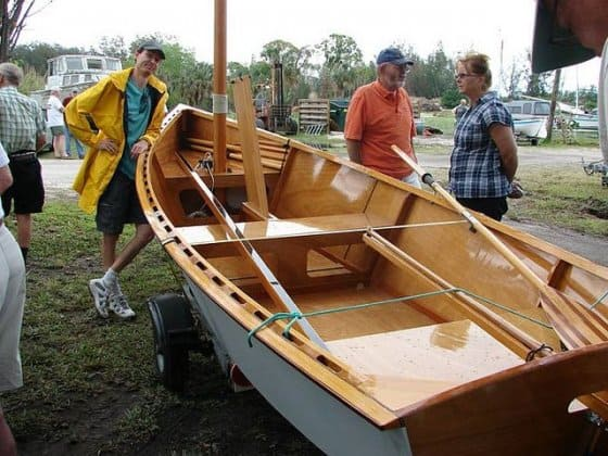 Goat Island Skiff Plan - simple building and very fast