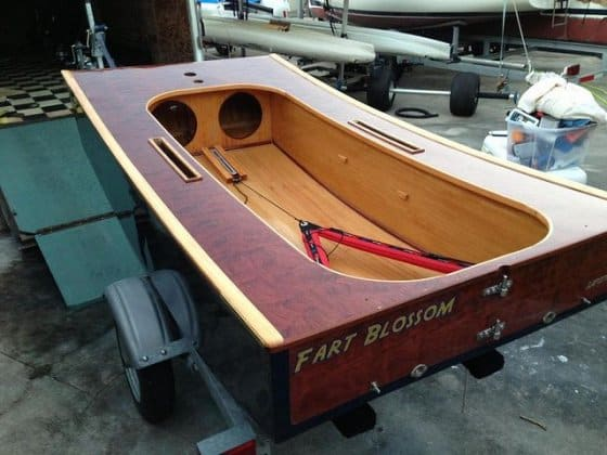 ... wooden Duck – an OzRacer RV sailboat | Storer Boat Plans in Wood and