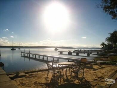 Nord's Wharf lake macquarie