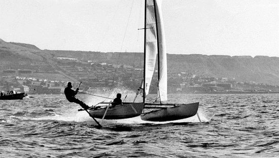 Hydrofoil Sailboat Plans 11ft boat that is faster