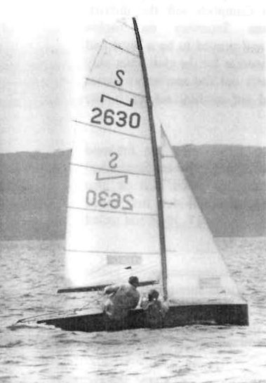 NS14 history Darryl and Malcolm Eggins win 71/72 titles on St Georges basin