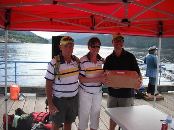 2013 PDRacer Worlds report - last finisher gets a sail kit from Polysail International