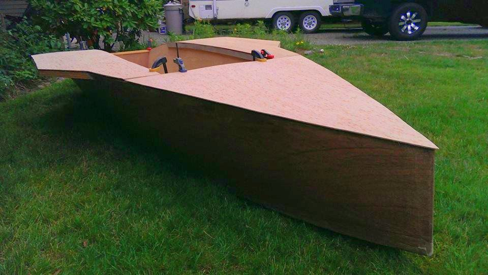 S12 Club New design – lightweight and efficient plywood racing ...