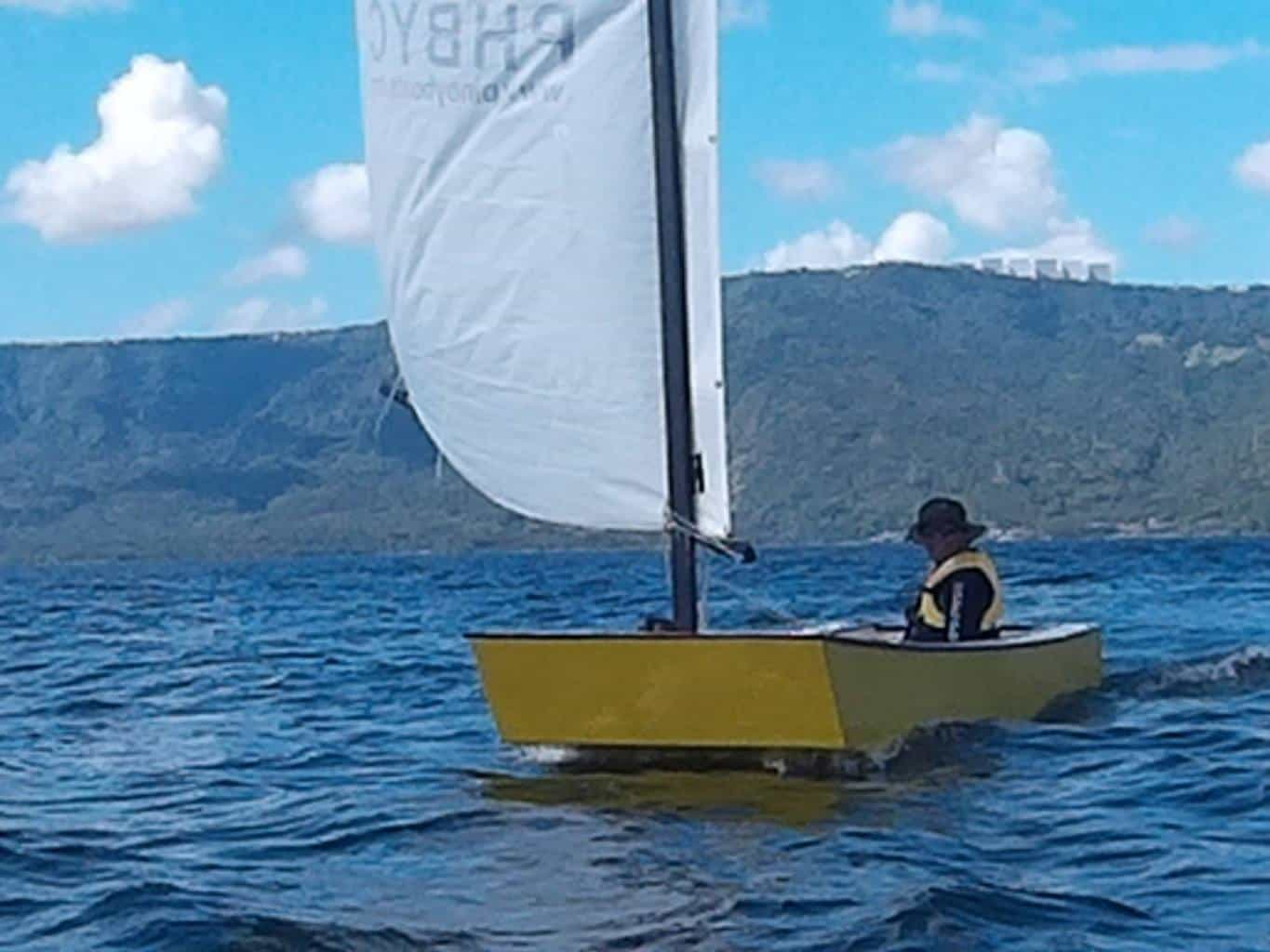 Oz Goose sailboat simple and fast - storerboatplans