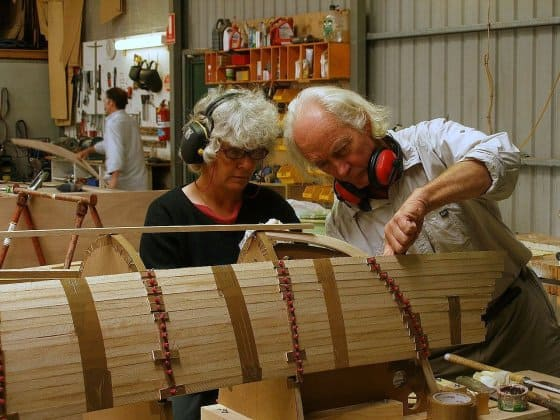 Paulownia for strip planked boats. storerboatplans.com