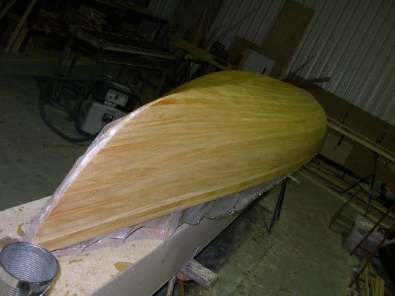 Paulownia for dinghies and canoes for light weight. storerboatplans.com