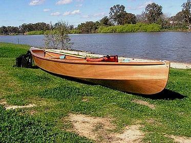 Eureka lightweight easy to build plywood canoe