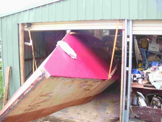 Simple hullshape of 23ft Dayboat Launch. See how pretty it turns out: storerboatplans.com