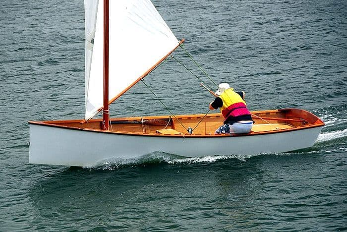 How To Rig Efficient Lug Sails Goat Island Skiff