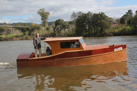 23ft Dayboat Launch on Hawkesbury River