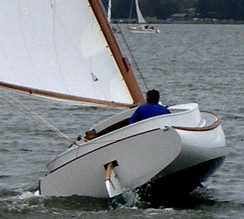 How we Strip Planked a Fenwick Williams Catboat