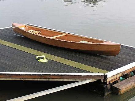 Lightweighting a Plywood Canoe - Eureka