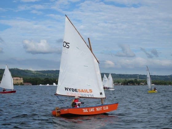 Winner - Oz Goose National Championship - cheapest racing class sail boat - storer boat plans