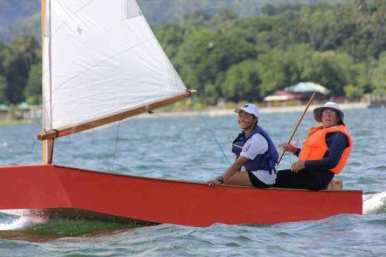 Second place - Oz Goose National Championship - cheapest racing class sail boat - storer boat plans